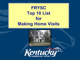 frysc top 10 list for making home visits cabinet for health and