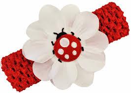 baby headband ladybug crochet baby headband infant and