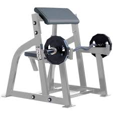 hammer strength seated arm curl life fitness strength training