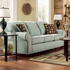 montclair seafoam queen sofa sleeper signature design by ashley