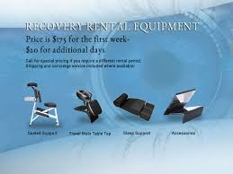 Comfort Solutions Vitrectomy Vitrectomy Recovery Rentals Face Down Recovery Equipment