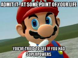 Super Mario Memes - powers by mariofangirl23 relatable pinterest super mario