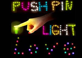 tiny push pin led light feelgift