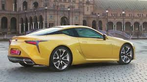 lexus lf fc interior 2018 lexus lc interior exterior and drive youtube