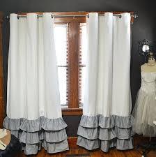 Make Kitchen Curtains by Ruffled Kitchen Curtains U2013 Brapriseronline Com