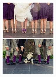 purple love that the brides u0027 wearing color shoes and the