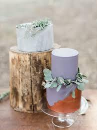 modern forest wedding inspiration romantic wedding 100 layer cake