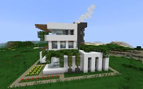 awesome modern house minecraft top small modern house minecraft