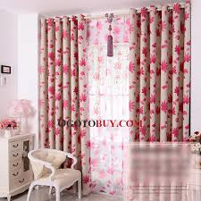 Multi Colored Curtains Drapes Marvelous Pink Grommet Curtains Decorating With Leaf Multi Color