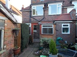 small house extension priory builders