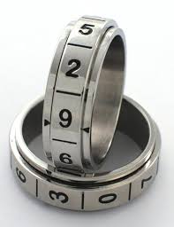 d20 spinner ring buy d 10 spinner ring stainless steel even odds for all numbers