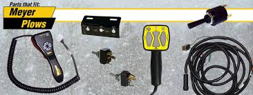 lift angle switches slick stick and touch pad meyer snow plow