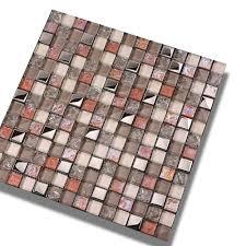 bathroom wall tiles gold cracked cheap grey glass mosaic tiles