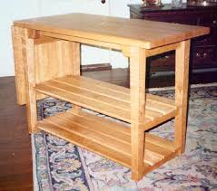 Wood Kitchen Work Tables Akiozcom - Work table design plans