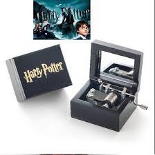 Engraved Music Box Sankyo Black Hp Hand Engraved Wooden Music Box Harry Potter