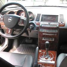 Nissan Maxima 2005 Interior Nissan Maxima Interior Burl Wood Dash Trim Kit Set 2004 2005 2006