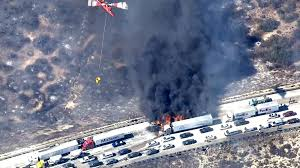 California Wildfire Locations 2015 by Cars Catch Fire After California Wildfire Jumps Freeway Nbc News