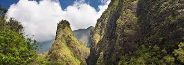 Iao Valley State Park Map by Iao Valley And Iao Needle Kukaemoku Maui Hawaii