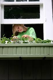 kitchen window herb garden family chic by camilla fabbri 2009