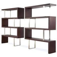 half wall bookcase room divider u2013 sweetch me