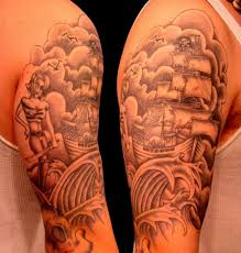 half sleeve designs design pictures