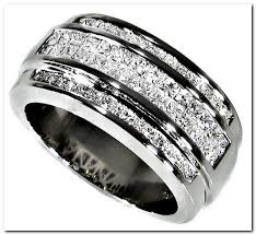 mens wedding bands with diamonds men s diamond wedding bands