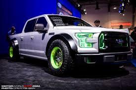 neon lights for trucks sema 2014 vaughn gittin jr s drift truck is the ultimate fun