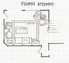 Living Room Floor Plan by Remodelaholic Living Room Part 3 Experimenting With Furniture