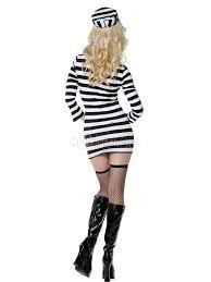 prisoner costume split color prisoner costume for women