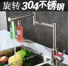 free faucet kitchen lead free 304 stainless steel kitchen faucet mixer and cold