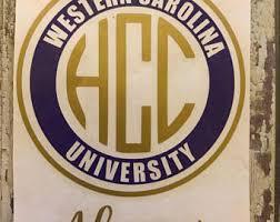 of south carolina alumni sticker western carolina etsy