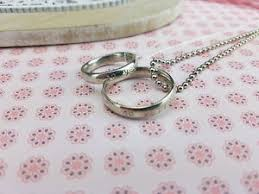 10th anniversary gift him 10 year wedding anniversary ring necklaces 10th