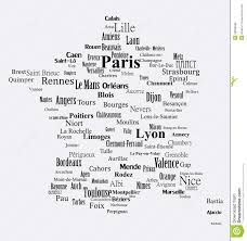 Rouen France Map by Text Graphic France Map Stock Photos Image 33036583