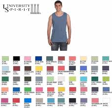 comfort colors tank with sorority box design