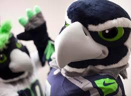 seahawks introduce mascot u0027boom u0027 official sidekick blitz