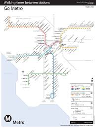Google Maps Los Angeles New Map Shows Walk Time Between L A Metro Stations U2013 Streetsblog