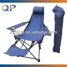folding chair with footrest with pillow and armrest global sources