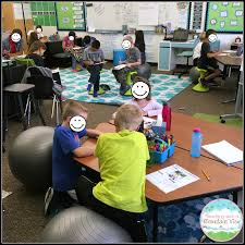 Picture Of Student Sitting At Desk by Teaching With A Mountain View Flexible Seating Reflections