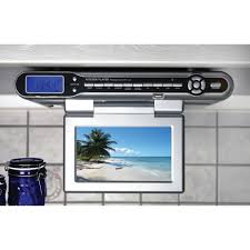 radio cuisine radio de cuisine encastrable soundmaster ktv 100 avec tv dvb t sur
