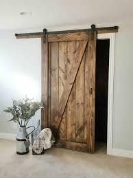 Barn Door Furniture Company Barn Door Sliding 1 Panel Z Style Walston Door Company