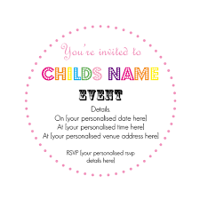 luxury lollipop invitations for children u0027s parties by made with