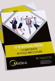 two fold brochure template psd corporate premium bi fold psd brochure template by elegantflyer