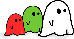 free halloween ghosts free halloween vector clipart illustration