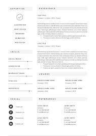 Resume Template Docx 3 Page Resume Template Indd Docx Resume Templates Creative