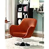 amazon com orange chairs living room furniture home u0026 kitchen