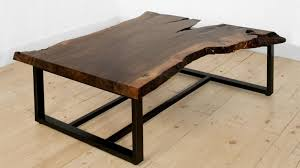 coffee table simple wood slab coffee table ideas how to make a