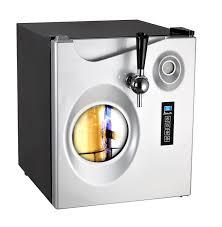 amazon com avanti 1 7 cubic foot beer dispenser black w platinum