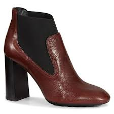 s heeled ankle boots uk fitted womens tods leather ankle boots burgundy black