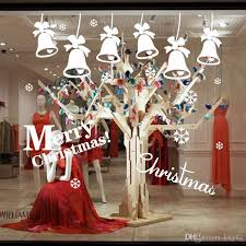 Happy New Year Room Decorations by Remoavble Happy New Year Merry Christmas Bell Vinyl Wall