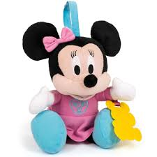 disney baby minnie mouse small talking soft toy 15 00 hamleys